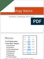 basic biology slides for academic challenge studying