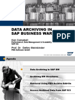 Data Archiving Sap Business Warehouse
