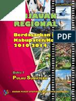 Tinjauan Regional Berdasarkan PDRB Kabupaten Kota 2011 2014 Buku 1 Pulau Sumatera (1)