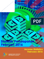 Statistik Pendapatan Februari 2016