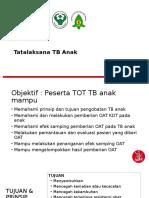 Tatalaksana TB Anak