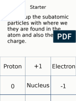 AQA C1.1.3 the Arrangement of Electrons in Atoms
