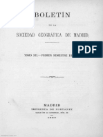 Boletín de La Sociedad Geográfica de Madrid Tomo XII Año VII Número 1 - 1882 Enero - 1000014434