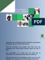 psychological assesment kit