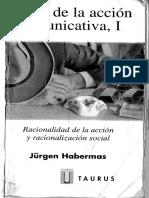 Accion social, actividad teleologica y comunicacion - Jurgen Habermas.pdf