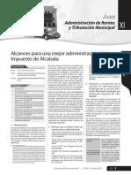 Articulo Impuesto de Alcabala