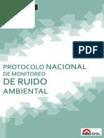 Monitoreo de Ruido Ambiental 2014_MINAM