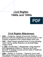 civil rights 1940s 1950s