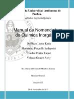Manual de Nomenclatura.