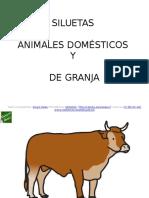 Siluetas Animales Domesticos y de Granja (2)