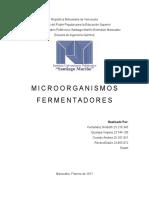 microorganismos fermentadores
