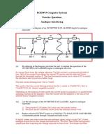 ECE3073 P7 Analogue Answers