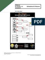 BlitRoom Counter-Strike 1.6 Tournament - Schedules & Fixtures