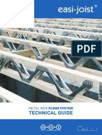 Easi-joist Tech Guide 4th Edition Nov 2010