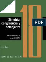 Cuaderno 18_ Simetria, Congruencia y Semejanza