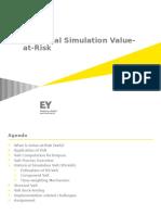 E & Y Markets Risk HS VaR Training PPT