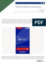 Cómo Conectar a Un Servidor FTP en Windows Sin Software Extra