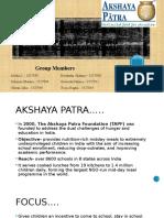 SBM Presentation_Akshaya Patra(Final)