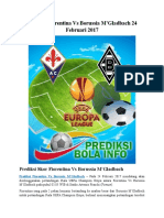 Prediksi Fiorentina vs Borussia M'Gladbach 24 Februari 2024