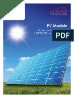 Sunsoko PV Module