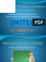 2017-1 Aplicaciones Distribuidas - Introduccion