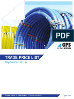 GPS PE Pipe System