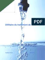 Utilitaire du traitement de l'eau