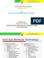 Acid Gas Removal Technology