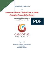 Criminal Law Conf 26 Nov