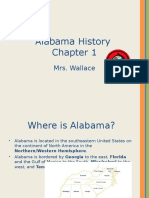 Alabama History-chapter 1