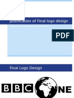 2 7 justification of final logo design