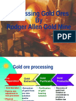 Types | Gold Ore Processing  | Rodger Allen Gold Mine
