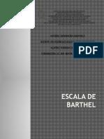 Presentación Escala de Barthel