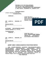 Ombudsman Complaint by Head Teacher Almaira Macatanong-Bato, et al VERSUS DepEd-ARMM Sec. Dr.  John A.   Magno, et al.
