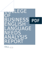 cob ldp needs analysis report fall 2016