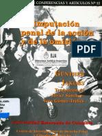 Jakobs, Gunther - La Imputacion Penal de La Accion y de La Omision