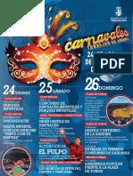 Programa Carnavales de Torrejón 2017