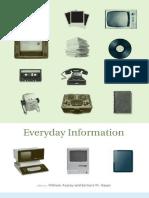 Aspray, William; Hayes, Barbara M (Eds.) - Everyday Information. the Evolution of Information Seeking in America