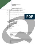 Mitgliedschaftsantrag der IAPA