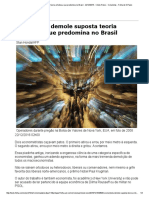 Economista Demole Suposta Teoria Ortodoxa, Que Predomina No Brasil - 22-12-2016 - Clóvis Rossi - Folha