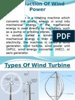 Wind Power Turbine