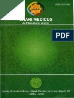 1 2011 June Unani Medicus