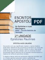 Escritos Apostólicos - Aula 02