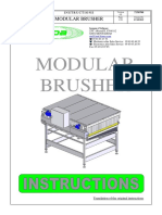 7150700US-T 1.2 Brosseuse Modulaire