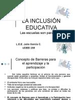 Barreras Para El Aprend. y La Partic. Julio Garcia