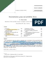 Jona-Lasinio-Renormalization Group and Probability Theory (2001)