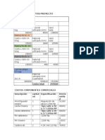 Resumen de Costos Proyecto