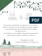 Invitatie Elisa Si Cristi