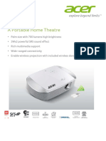 Acer K137i 3D Ready DLP Home Theater Projector