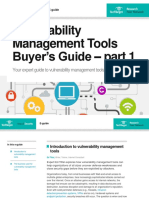 Vulnerability Management Tools Buyersguide Part1